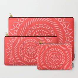 Spicy [Red] • Mandala Carry-All Pouch