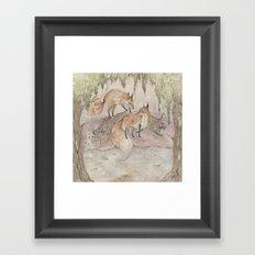 Fox [[ 1 ]] Framed Art Print