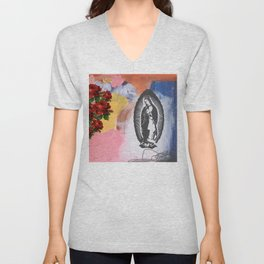 Virgin De Guadalupe Unisex V-Neck