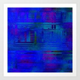 SchematicPrismatic 07 Art Print