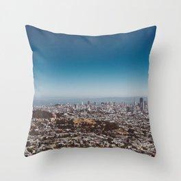 San Francisco View II Throw Pillow