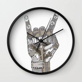 Mech-Rock Wall Clock