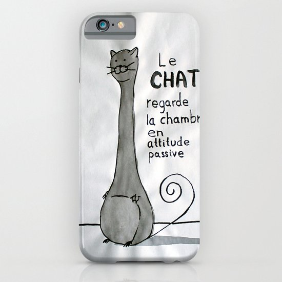 Le Chat iPhone & iPod Case