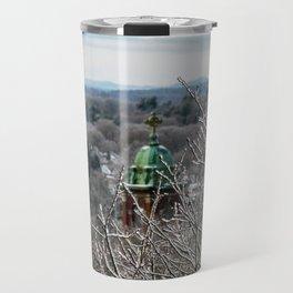 Frozen Portland, Maine (1) Travel Mug