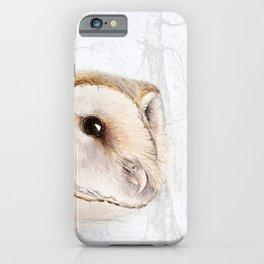 Mr Barn Owl iPhone Case