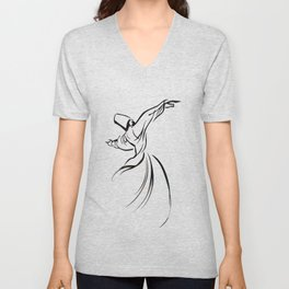 Sufi Meditation Unisex V-Neck
