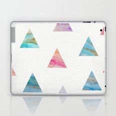 Marble Triangles Laptop & iPad Skin
