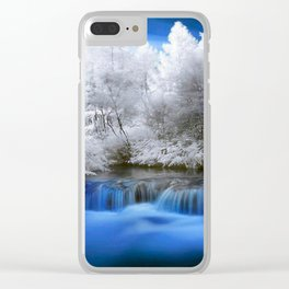 Beautiful Mother Nature Clear iPhone Case