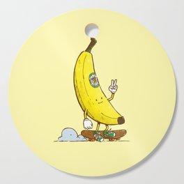 The Banana Skater Cutting Board