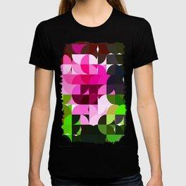 Rosas Moradas 1 Abstract Circles 1 T-shirt