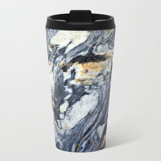 Marble Rock Metal Travel Mug