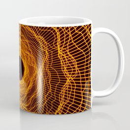 Wormhole Warp Black Hole -Orange Amber- Coffee Mug