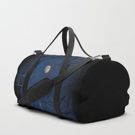 A Moon lit forest Duffle Bag