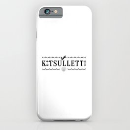 Kitsulletti iPhone Case