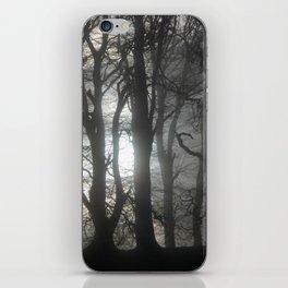 The Dark Wood iPhone Skin