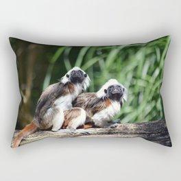 Cotton-top Tamarin Rectangular Pillow