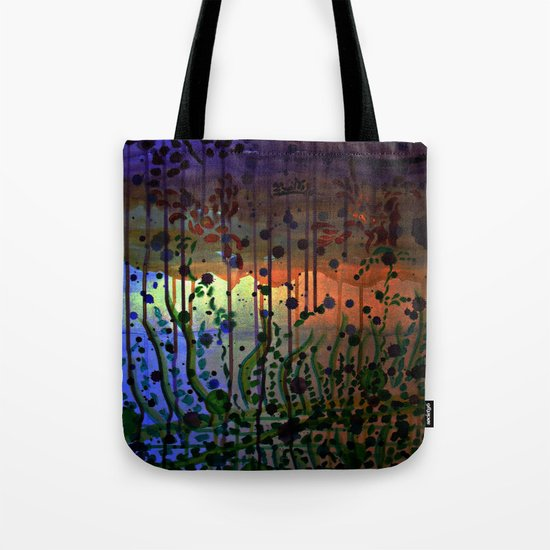 Underwater Sunray Tote Bag