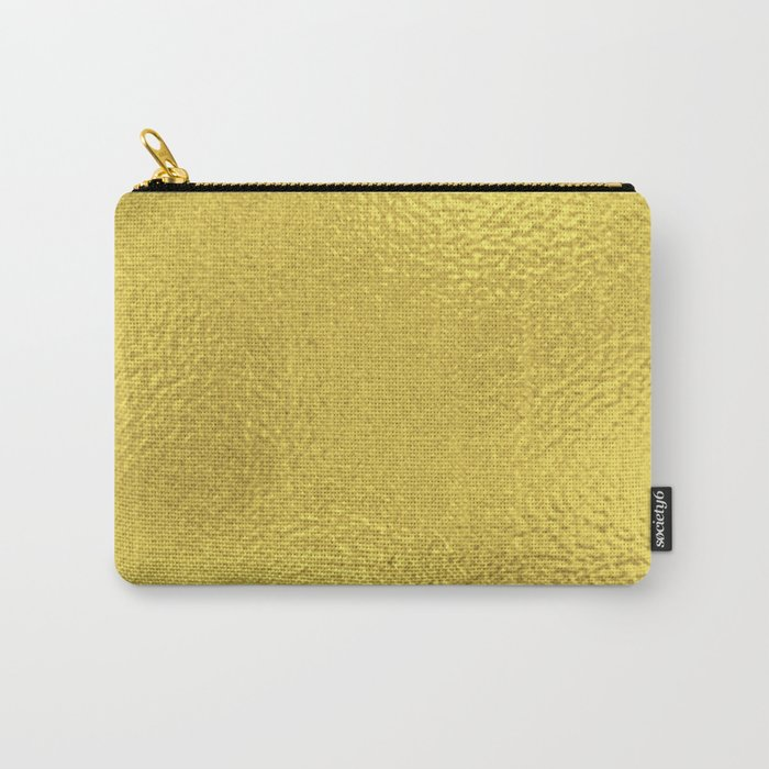 Simply Metallic in Yellow Gold Carry-All Pouch