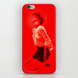 Lady in Red iPhone Skin