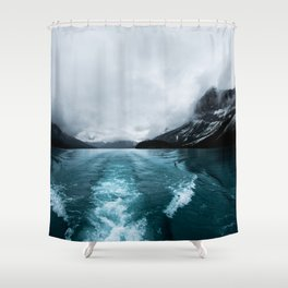 Landscape Photography Alberta Shower Curtain