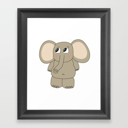 Irrelephant Framed Art Print