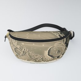Mare Humorum by Étienne Léopold Trouvelot (1875) Fanny Pack