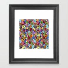 Doodle Mix 1 Framed Art Print