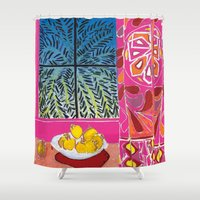 matisse Shower Curtains featuring Matisse version by bbay