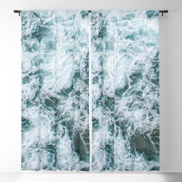 Waves in Abstract Blackout Curtain