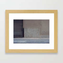 Blank Framed Art Print