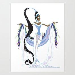 Yemaya Divina Art Print