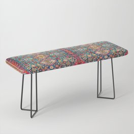 N131 - Heritage Oriental Vintage Traditional Moroccan Style Design Bench