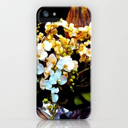 colorful and fragrant, Orchid flowers iPhone Case