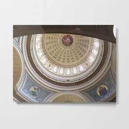 Wisconsin Capitol Building Rotunda 1 Metal Print