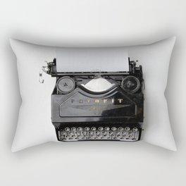 typewriter #society6 #decor #buyart Rectangular Pillow