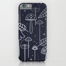Silver Mushrooms Slim Case iPhone 6s
