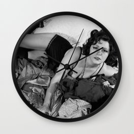 Clara Bow Sexy Time Wall Clock