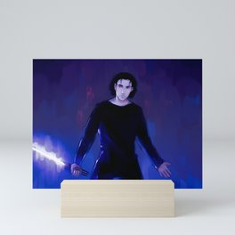 Ben Solo shrug Mini Art Print