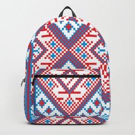 Slavik Cross stitch pattern Backpack