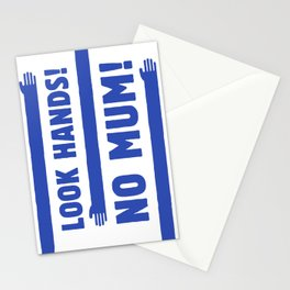 Look Hands! No Mum! Stationery Cards