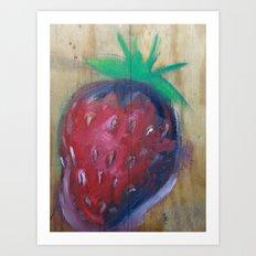 strawberry fields Art Print