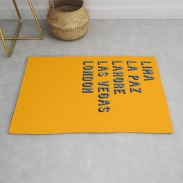 Join the Journey - London Rug