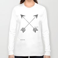 friendship Long Sleeve T-shirts featuring Friendship by Adel