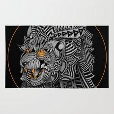 Barbarian Lion Rug