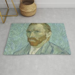 Van Gogh Portrait Rug