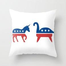 Myth O'rama Throw Pillow