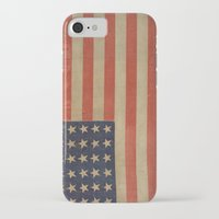 flag iPhone & iPod Cases featuring Flag by ART SHOP