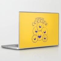 cookies Laptop & iPad Skins featuring Cookies by Artificial primate