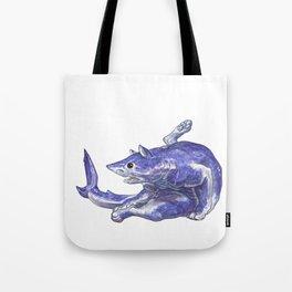 Mako Shark Cat :: Series 1 Tote Bag