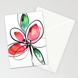 Ecstasy Bloom No. 3 by Kathy Morton Stanion Stationery Cards